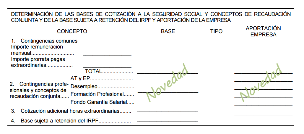 nuevo modelo de recibo de salarios para el 2015 dlegis laboral
