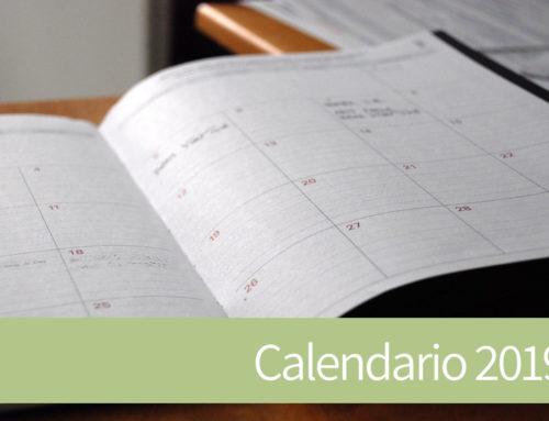 Publicado el calendario de fiestas laborales para el año 2019